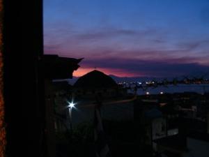 sunrise in Nafplio